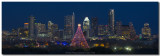 Austin Images - Trail of Lights and the Austin Skyline 2013