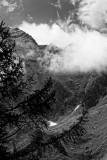 Clouds and mountains  - Nuages et montagnes