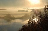Sun & Fog - Missouri River, Ponca State Park, Nebraska - Oct. 2014