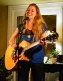 Megan Slankard backyard concert