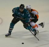 San Jose Sharks vs. Philadelphia Flyers - December, 2014