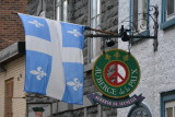 Signs of Quebec City