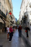 Narrow Streets of the Historic District