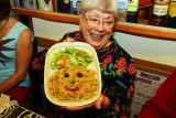 The Vegetarian Meal Comes with a Happy Face