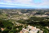 Sintra in the Valley Below
