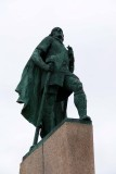 Statue of Leif Erikson, presented to Iceland by the USA