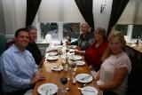 The farewell dinner