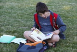 Homework At Soccer Practice
