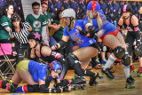 Queen City Roller Girls Pile Up