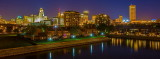 August Night View Of Buffalo From The Waterfront
