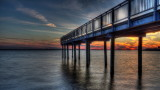 Sunset On Gallagher Pier