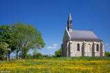 La chapelle des Marins, à Saint-Valéry-sur-Somme vue du bateau