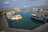 Le port de pêche d'Héraklion