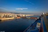 Sortie du port de Thessaloniki