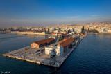 Le port de Thessaloniki