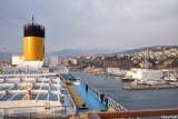 Arrivée dans le port de Savone