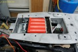 00023-04181 Battery tray hogged out a bit for Ballistic lithium battery
