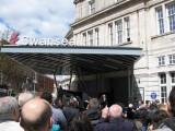 Blue plaque unveiling ceremony
