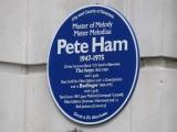 The blue plaque