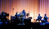 Leonard Cohen and band