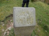 One of the Gower Way markers