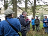 Tim explains about the uses of  Marsh grass