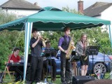 Members of Gloucestershire Youth Jazz Orchestra
