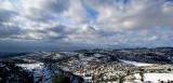 Snow in the Jerusalem hills (Tel Zova)