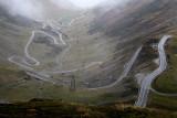 The Transfagarasan road, Romania