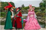 Carnaval de Venise au Jardin de St Adrien en 2013