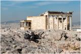 L'Acropole d'Atènes, l'Erechthéion.