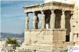 Athènes, l'Erechtéion : le portique des Korés