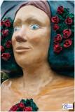 Rose-Marianne, la rosière du Kochersberg.- Place de la République