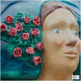 Rose-Marianne, la rosière du Kochersberg par JEAN CLAUS - Place de la République