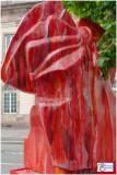 Poème de l'éclat rouge, par GERMAIN ROESZ - Place Broglie