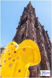 Cerf-tête par MARC FELTEN - Place de la Cathédrale
