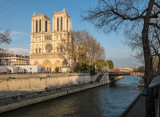 Notre Dame and the River Seine
