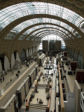 Orsay Museum (made from a converted train station)