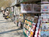 Book-Selling Kiosks on the Seine