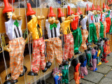 Marionettes at a Souvenir Stand