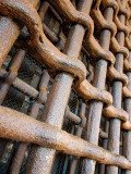 Iron Bars at the 'New Prison'