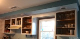 upper cabinets started