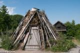 Sami (Lapland) camp {PG}