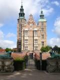Rosenborg Castle, entrance from Kings Garden