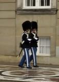 Amelienborg Palace, royal guards