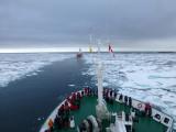 CCGS Henry Larsen icebreaker escort