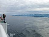 Tabular iceberg - 2.5 miles X 0.5 mile X 70' high