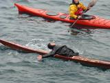 Inuit kayak roll