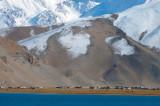 Slopes of Muztagh Ata and Karakul Lake, Xinjiang, China