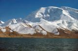 Muztagh Ata and Karakul Lake, Xinjiang, China